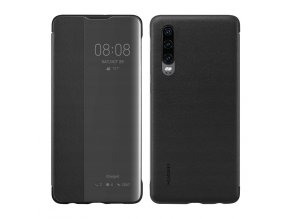 eng pl Huawei Smart View Flip Cover Bookcase Type Case with Smart Window for Huawei P30 black 51992860 49403 1
