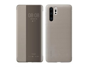 eng pl Huawei Smart View Flip Cover Bookcase Type Case with Smart Window for Huawei P30 Pro brown 51992886 49406 1 (1)