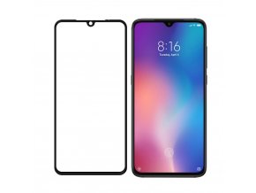 eng pl Wozinsky Tempered Glass Full Glue Super Tough Screen Protector Full Coveraged with Frame Case Friendly for Xiaomi Mi 9 black 49388 5