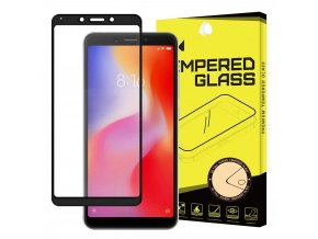 eng pl Wozinsky Tempered Glass Full Glue Super Tough Screen Protector Full Coveraged with Frame Case Friendly for Xiaomi Redmi 6A black 45066 5