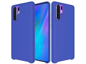 eng pl Silicone Case Soft Flexible Rubber Cover for Huawei P30 Pro dark blue 47368 1