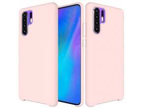 eng pl Silicone Case Soft Flexible Rubber Cover for Huawei P30 Pro pink 47370 1