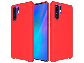 eng pl Silicone Case Soft Flexible Rubber Cover for Huawei P30 Pro red 47369 1 (1)