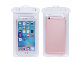 eng pl Armband 5 5 waterproof universal case transparent white 15640 7