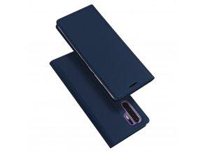 eng pl DUX DUCIS Skin Pro Bookcase type case for Huawei P30 Pro blue 46669 1