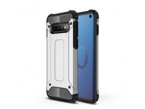 eng pl Hybrid Armor Case Tough Rugged Cover for Samsung Galaxy S10 silver 46575 1