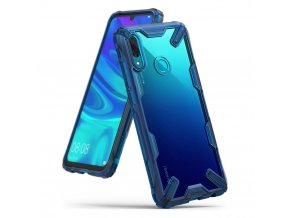 eng pl Ringke Fusion X durable PC Case with TPU Bumper for Huawei P Smart 2019 blue FXHW0012 RPGK 48569 3