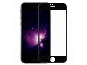 Zaoblené tvrzené sklo na iPhone 6, 6S černé