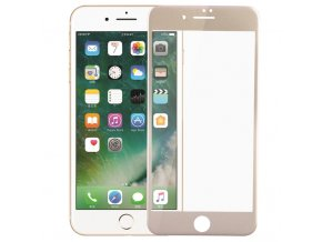 Screen Protector 3D Curved Edge Coated Tempered Glass Film Full Cover for iPhone 7 plus Gold.jpg 640x640