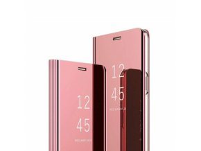 eng pm Clear View Cover case HUAWEI Y7 2019 PRIME pink 61343 1
