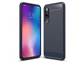 eng pl Carbon Case Flexible Cover TPU Case for Xiaomi Mi 9 blue 48411 1 (1)