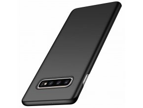 eng pl MSVII Simple Ultra Thin Cover PC Case for Samsung Galaxy S10 Plus black 48339 1