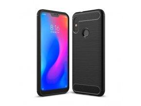 eng pl Carbon Case Flexible Cover TPU Case for Xiaomi Mi A2 Lite Redmi 6 Pro black 42479 1