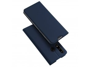 eng pl DUX DUCIS Skin Pro Bookcase type case for Huawei P30 Lite blue 48283 1