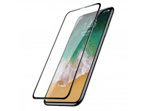 eng pl Baseus iPhone X 0 3mm Silk screen All screen Tempered Glass Film Black SGAPIPHX KC01 48207 1