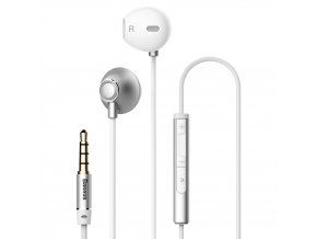 eng pl Baseus Enock H06 Lateral Earphones Earbuds Headphones with Remote Control silver NGH06 0S 46839 1