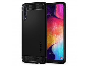eng pl SPIGEN RUGGED ARMOR GALAXY A50 MATTE BLACK 50553 7