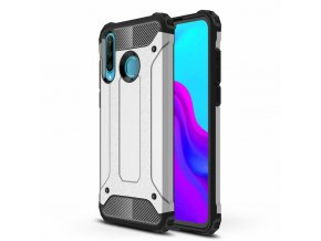 eng pl Hybrid Armor Case Tough Rugged Cover for Huawei P30 Lite silver 49272 1