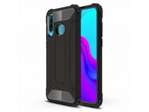 eng pl Hybrid Armor Case Tough Rugged Cover for Huawei P30 Lite black 49269 1
