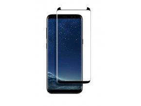 celoplošné 3D sklo na samsung s8 2018 černé 2