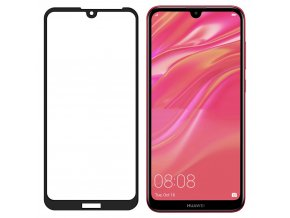 eng pl Wozinsky Tempered Glass Full Glue Super Tough Screen Protector Full Coveraged with Frame Case Friendly for Huawei Y5 2019 black 50430 2