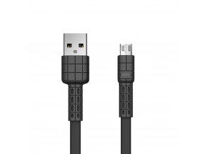 eng pl Remax Armor Series flat USB micro USB cable 5V 2 4A black RC 116m 49644 1