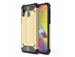 eng pl Hybrid Armor Case Tough Rugged Cover for Samsung Galaxy M20 golden 49283 1