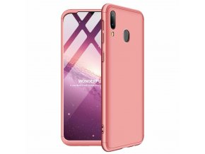 eng pl GKK 360 Protection Case Front and Back Case Full Body Cover Samsung Galaxy M20 pink 49051 1