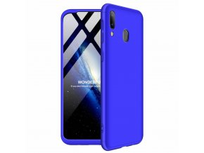 eng pl GKK 360 Protection Case Front and Back Case Full Body Cover Samsung Galaxy M20 blue 49048 1