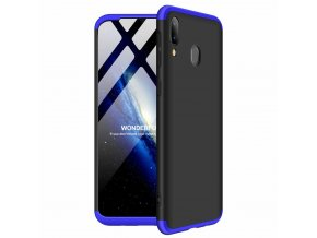 eng pl GKK 360 Protection Case Front and Back Case Full Body Cover Samsung Galaxy M20 black blue 49050 1