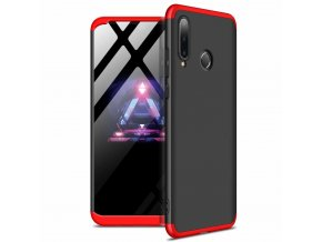 eng pl GKK 360 Protection Case Front and Back Case Full Body Cover Huawei P30 Lite black red 49661 1