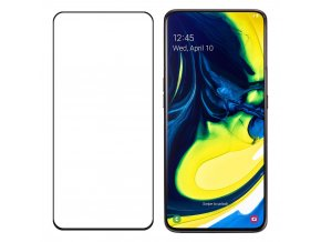 eng pl Wozinsky Tempered Glass Full Glue Super Tough Screen Protector Full Coveraged with Frame Case Friendly for Samsung Galaxy A80 black 50307 2
