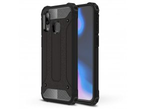 eng pl Hybrid Armor Case Tough Rugged Cover for Samsung Galaxy A40 black 50374 1