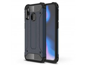 eng pl Hybrid Armor Case Tough Rugged Cover for Samsung Galaxy A40 blue 50375 1