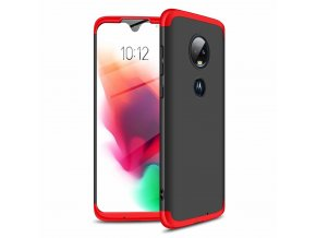eng pl GKK 360 Protection Case Front and Back Case Full Body Cover Motorola Moto G7 black red 46548 1