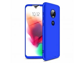 eng pl GKK 360 Protection Case Front and Back Case Full Body Cover Motorola Moto G7 blue 46549 1