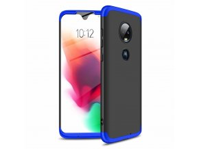 eng pl GKK 360 Protection Case Front and Back Case Full Body Cover Motorola Moto G7 black blue 46547 1