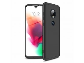 eng pl GKK 360 Protection Case Front and Back Case Full Body Cover Motorola Moto G7 black 46546 1