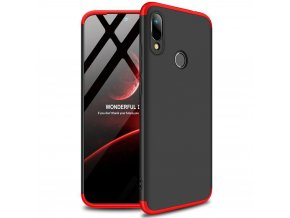 eng pl GKK 360 Protection Case Front and Back Case Full Body Cover Huawei Y6 2019 black red 50067 1
