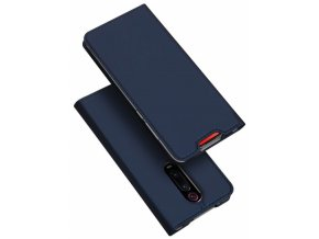 eng pm Dux Ducis Skin Leather case with a flap XIAOMI MI 9T navy blue 63461 6
