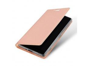 Dux Ducis luxusní flipové pouzdro na Samsung Galaxy A20e - růžový