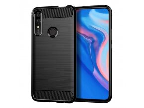 eng pl Carbon Case Flexible Cover TPU Case for Huawei P Smart Z black 51824 1