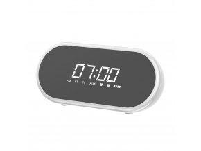 eng pl Baseus Encok E09 Stylish Portable Wireless Bluetooth Speaker with alarm clock and LED lamp white NGE09 02 51492 1
