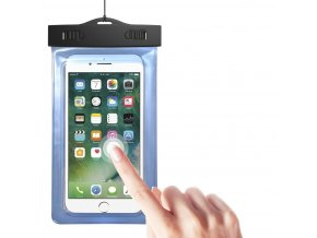 eng pl Universal waterproof case 5 5 cover with arm band blue 63322 1