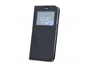 flipové pouzdro s okénkem na Huawei Mate 10 Lite černé