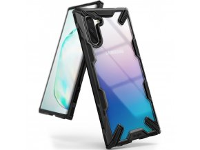 eng pl Ringke Fusion X durable PC Case with TPU Bumper for Samsung Galaxy Note 10 black FUSG0027 52397 1