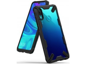 eng pl Ringke Fusion X durable PC Case with TPU Bumper for Xiaomi Redmi Note 7 black FXXI0007 51846 1
