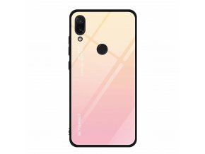 eng pl Glass case XIAOMI REDMI NOTE 7 pink 62942 1