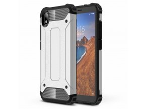 eng pl Hybrid Armor Case Tough Rugged Cover for Xiaomi Redmi 7A silver 52290 2