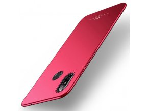 eng pl MSVII Simple Ultra Thin Cover PC Case for Xiaomi Mi Mix 3 red 46914 1